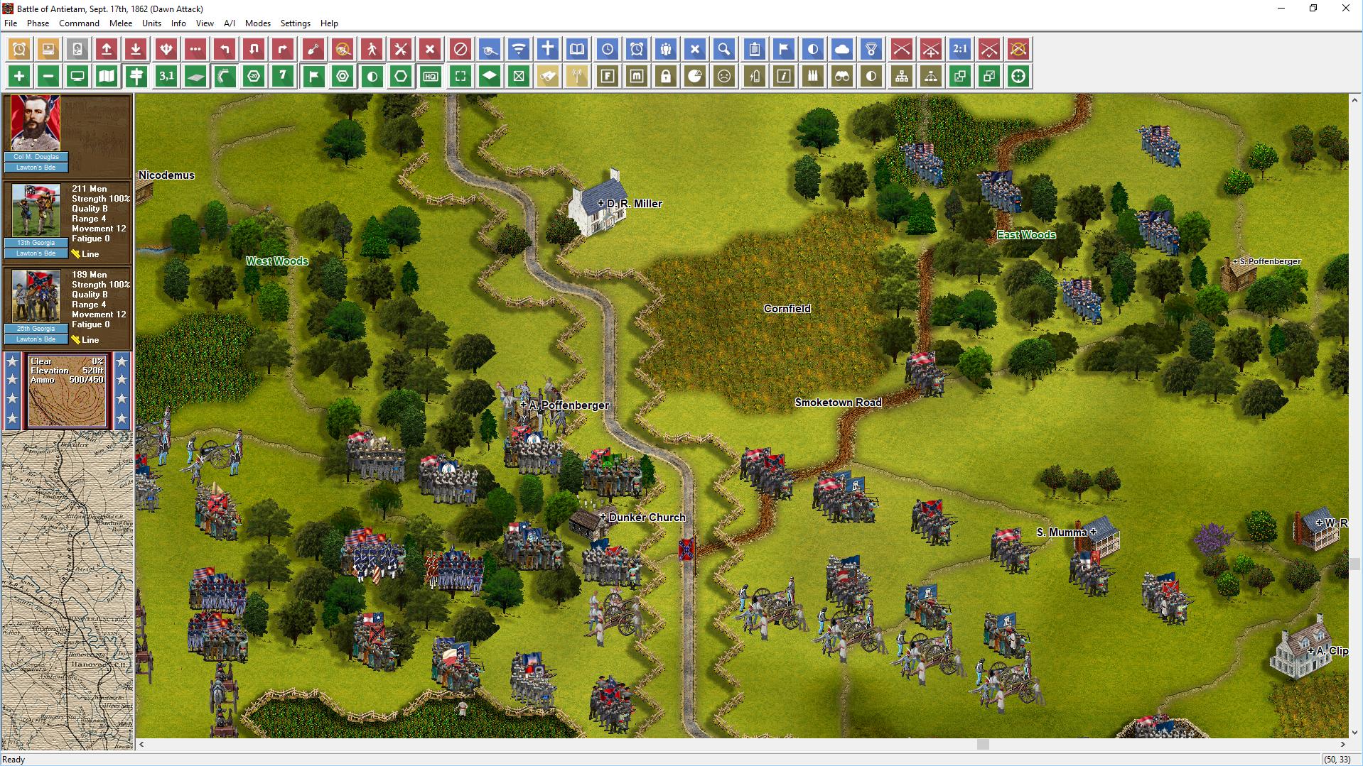 John Tiller Software Civil War Battles Campaign Antietam