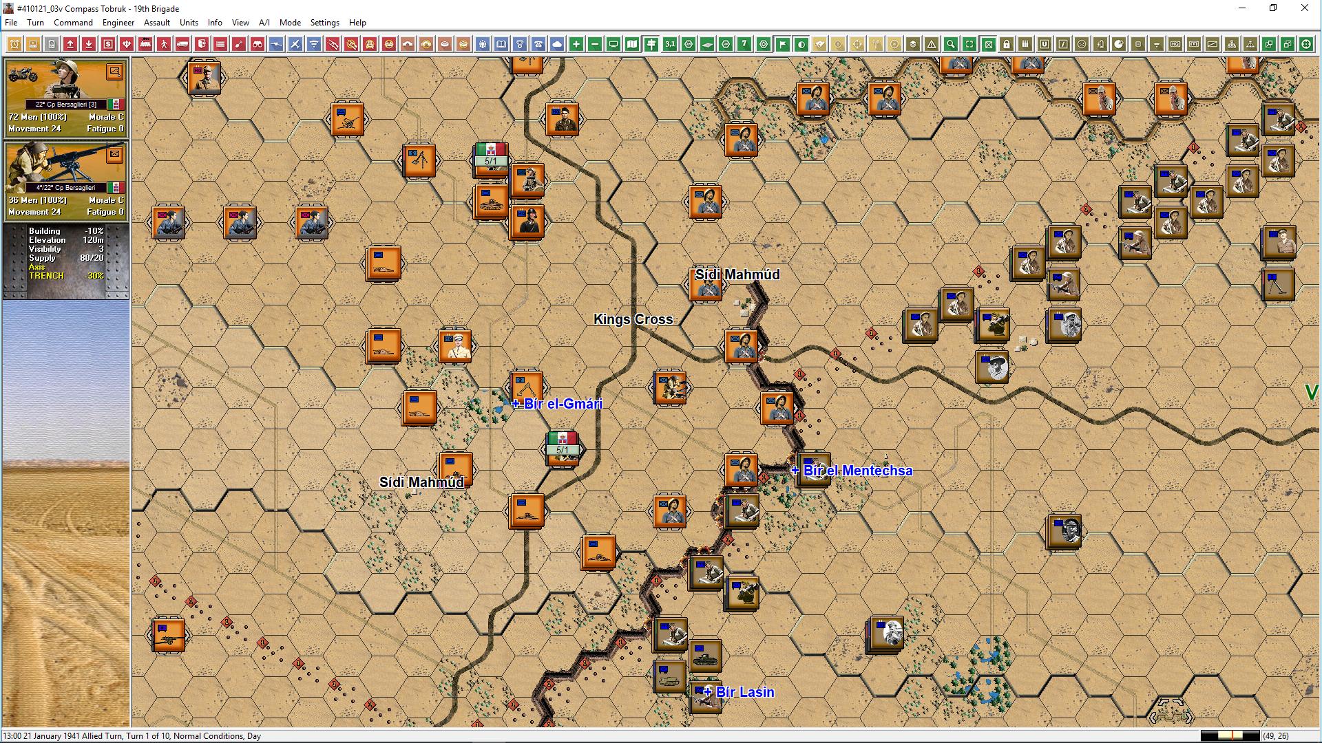 John Tiller Software - Panzer Battles - Battles of North