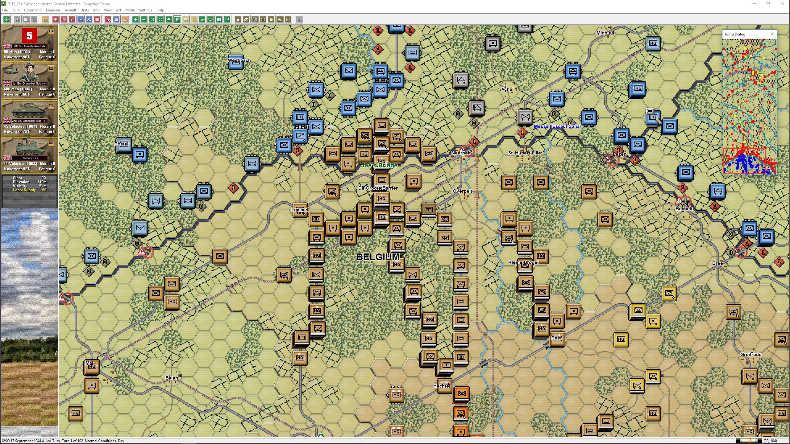 John Tiller Software - Panzer Campaigns - Market-Garden '44 Gold