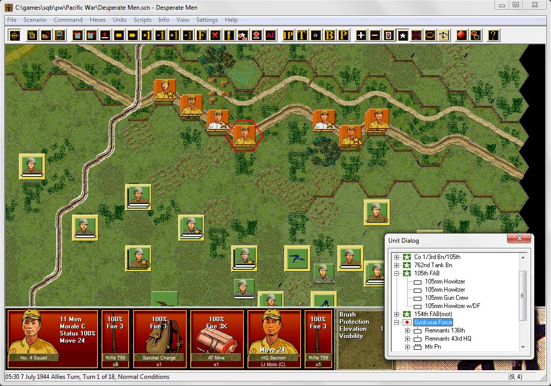 John Tiller Software - Squad Battles - Pacific War
